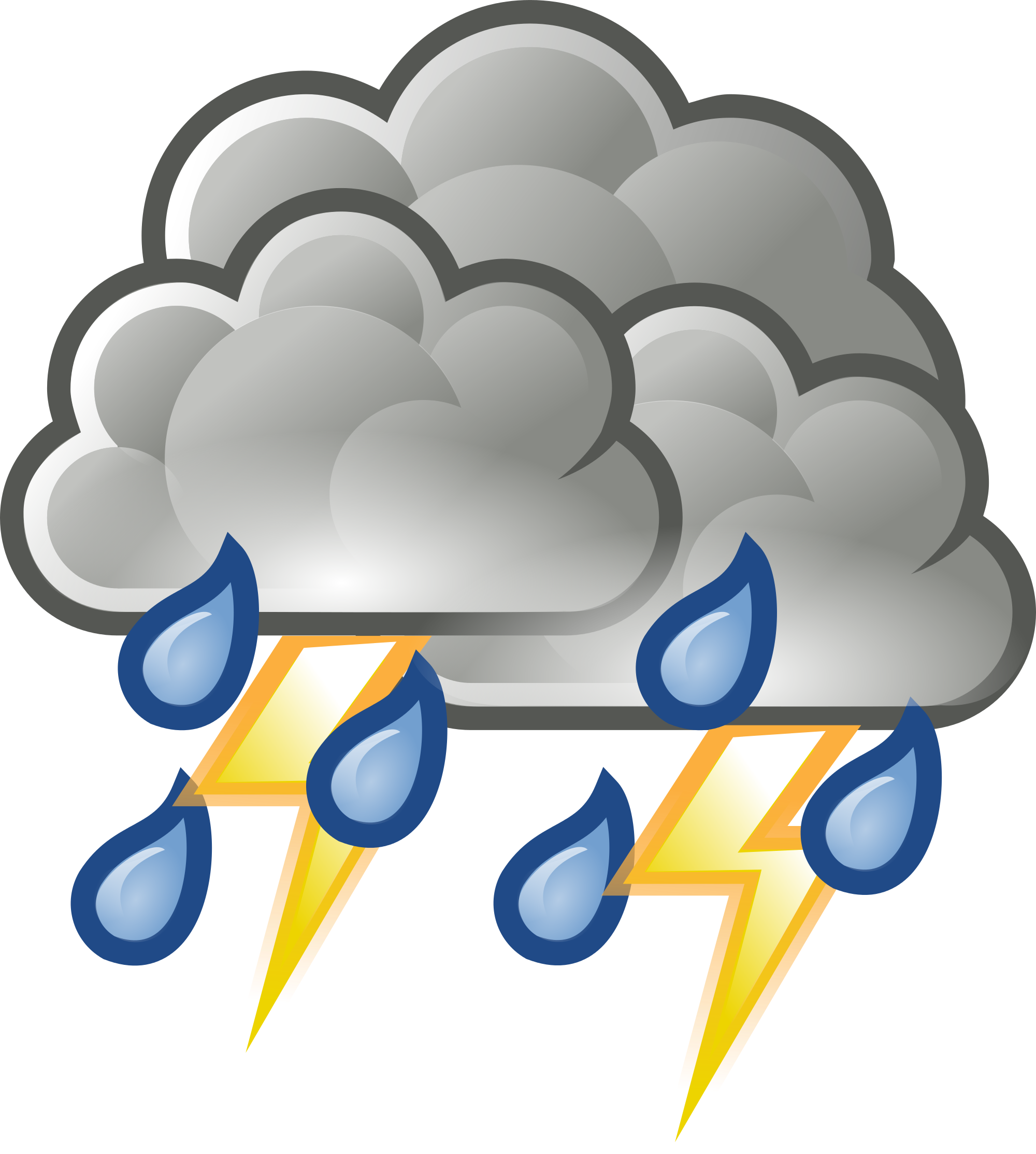 Thunder clipart thunderstorm Wikimedia Commons svg Open File:Weather