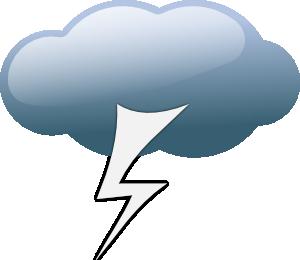 Thunder clipart thunderstorm Art Thunder storm Art Thunderstorm