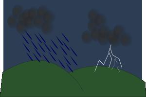 Thunder clipart thunderstorm Clip Thunder Art com Lightning