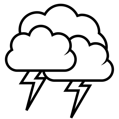 Thunderstorm clipart rain cloud Storm #9 clipart Thunder Download