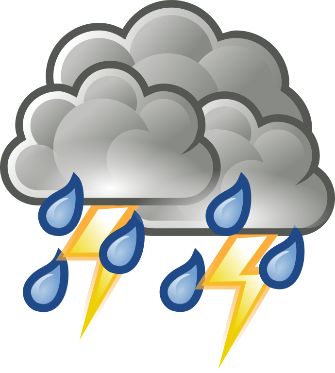 Thunderstorm clipart Download clipart Thunder Savoronmorehead Clipart