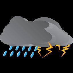 Thunderstorm clipart animated rain Clipart schliferaward Rain PNG IconBug