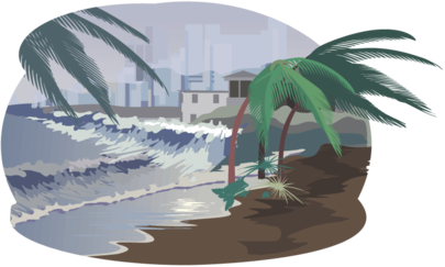 Thunderstorm clipart hurricane How big pres are hurricanes