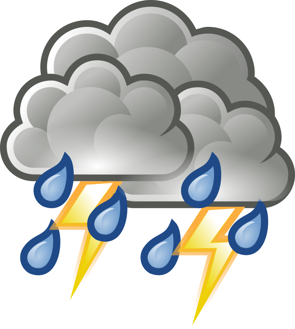 Thunderstorm clipart severe weather Wikimedia rain Clipart thunderstorm schliferaward