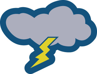 Thunderstorm clipart severe weather Campus Weather McLennan Severe