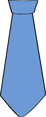 Tie clipart drawn Clipart Blue Clipart Clipart Art