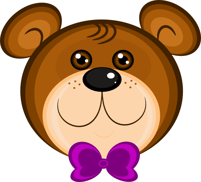 Brown Bear clipart sun bear Free Clipart Wearing Bear Bear