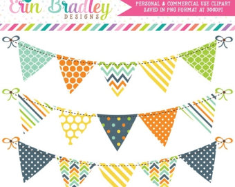 Tie clipart banner Green Yellow Bunting and Art