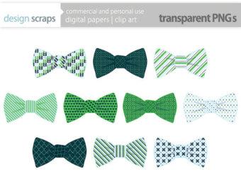Tie clipart banner Green navy art ties stripes