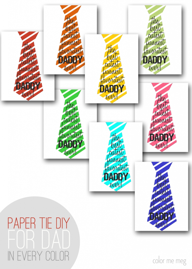 Tie clipart banner Banner print Father's Printable dad