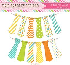 Tie clipart banner Bunting Instant & clip &