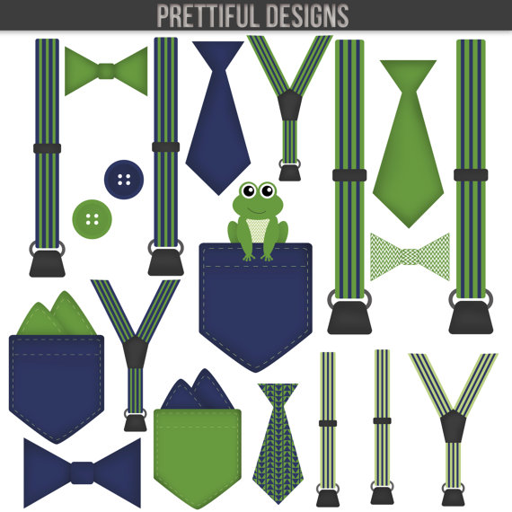Tie clipart blue and green Art Pocket Handkerchief Bow Accessories