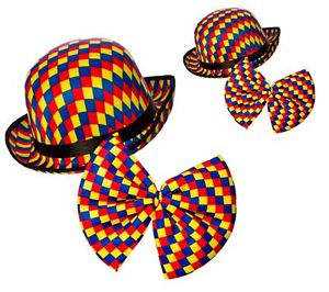 Tie clipart checked Clown Bowler Multi Clown Bow