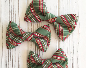 Tie clipart checked Bow plaid green tie tie