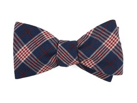 Tie clipart checked Tie Plaid Navy Ties Bar