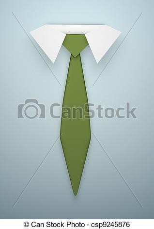 Tie clipart collar Tie tie a Illustration of