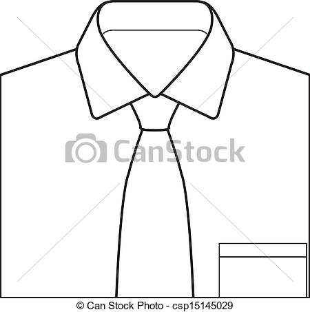 Tie clipart collar Tie on and of