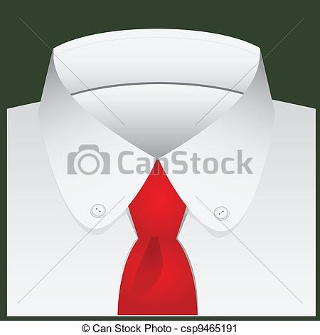 Tie clipart collar Buttons shirt with of
