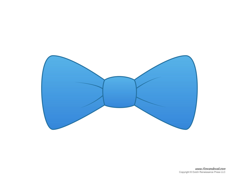 Bow Tie clipart stencil Paper Tie Templates Tie Bow
