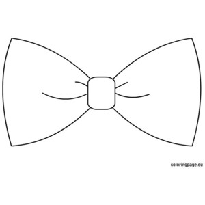 Tie clipart coloring page Coloring Bow Bow Download drawings