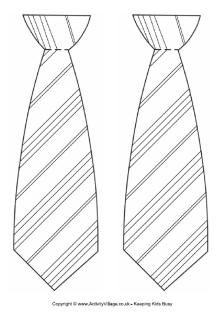 Tie clipart coloring page We last made tie these