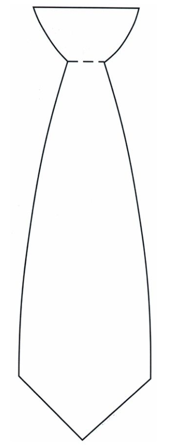 Tie clipart coloring page Best on images a for
