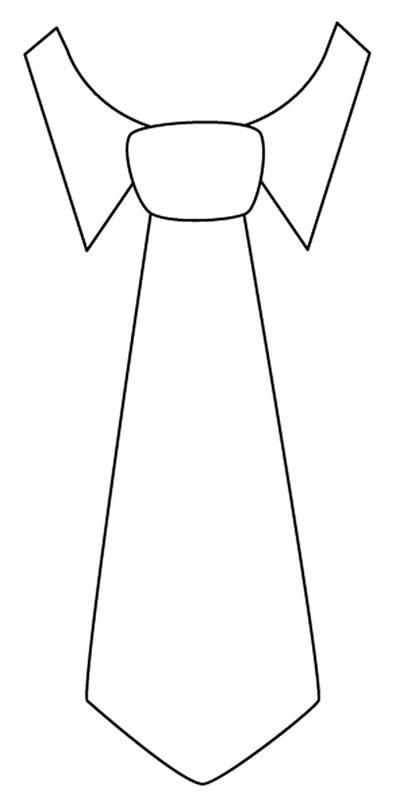 Tie clipart coloring page Coloring Coloring Art on 107