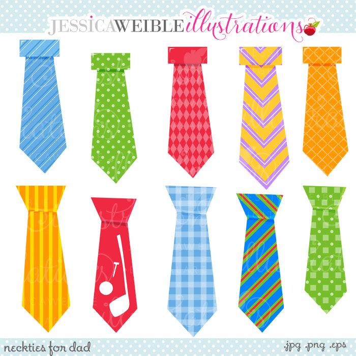 Orange clipart necktie Ties Clipart Clipart Digital Day