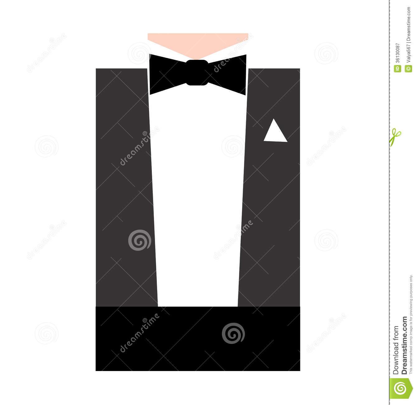 Tie clipart formal Clipart  Formal Black Tie