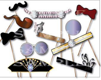 Tie clipart gatsby Bow Etsy bow tie Flapper