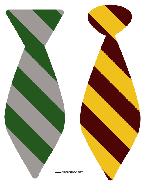 Tie clipart hogwarts Printable Potter Harry Harry birthday