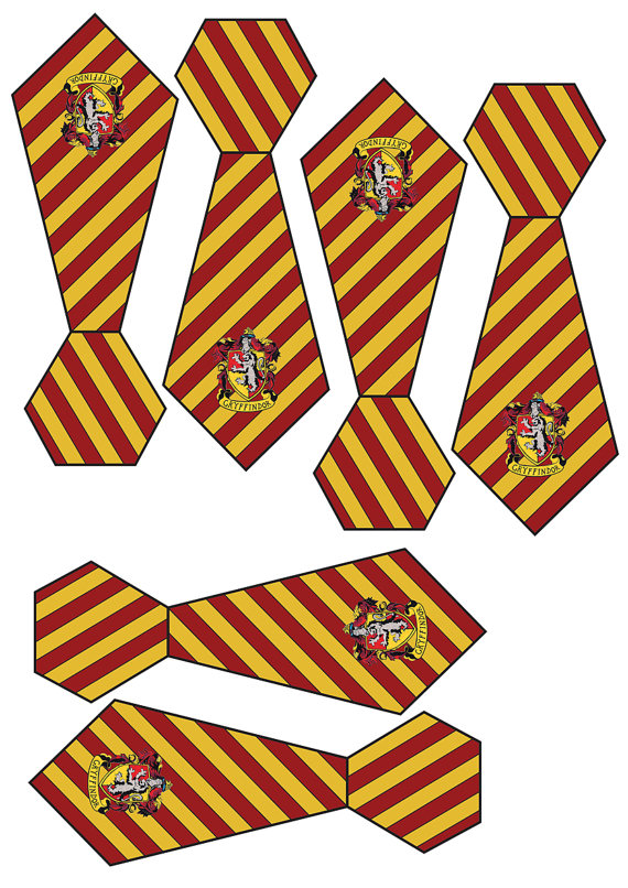 Tie clipart hogwarts Potter Ties House  Small