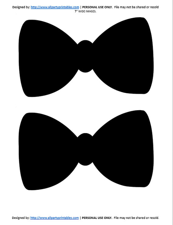 Tie clipart little man Party Bow Birthday Bow Shower