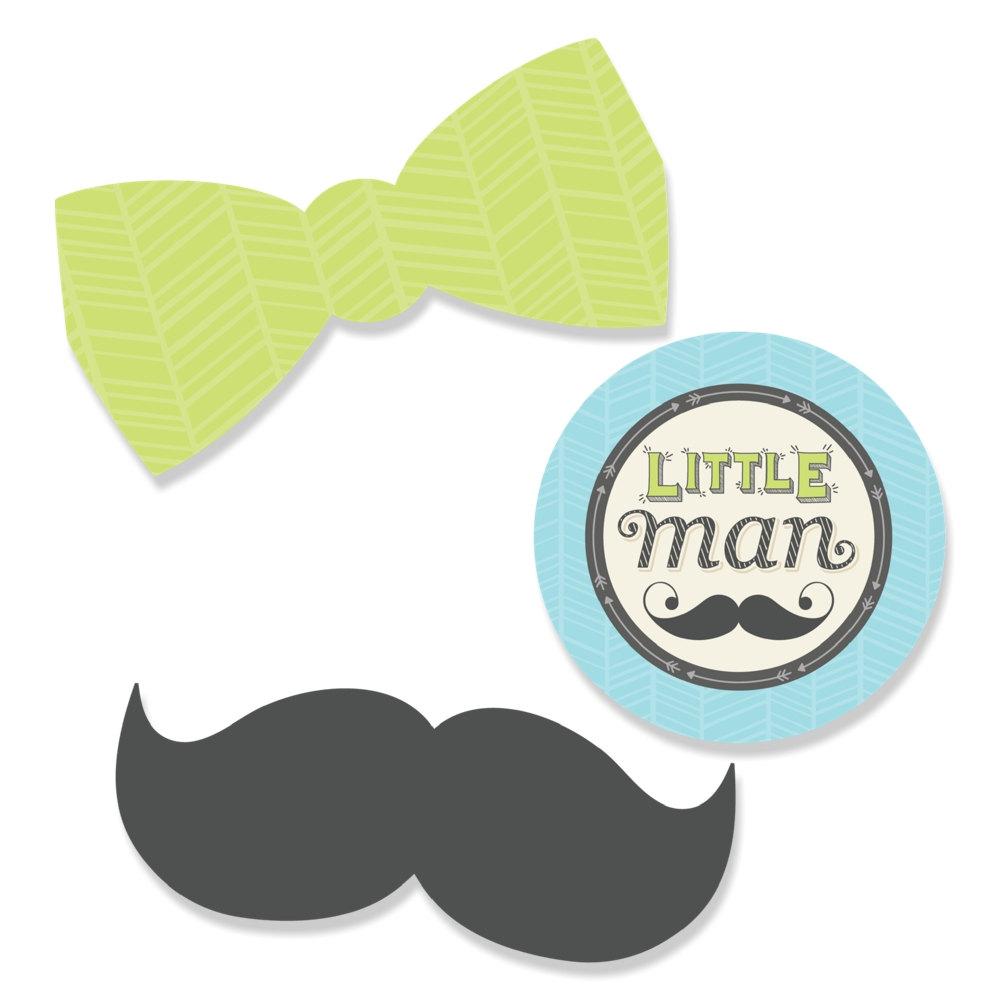Tie clipart little man Tie Party Mustache Little Mustache