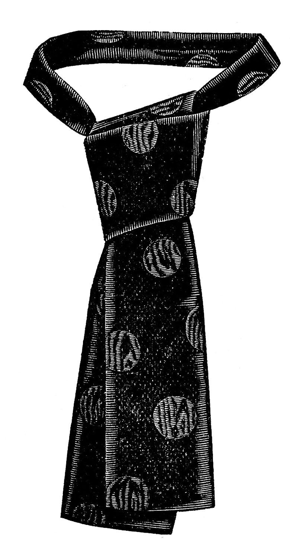 Tie clipart men's clothing Art Fairy – Clip Vintage