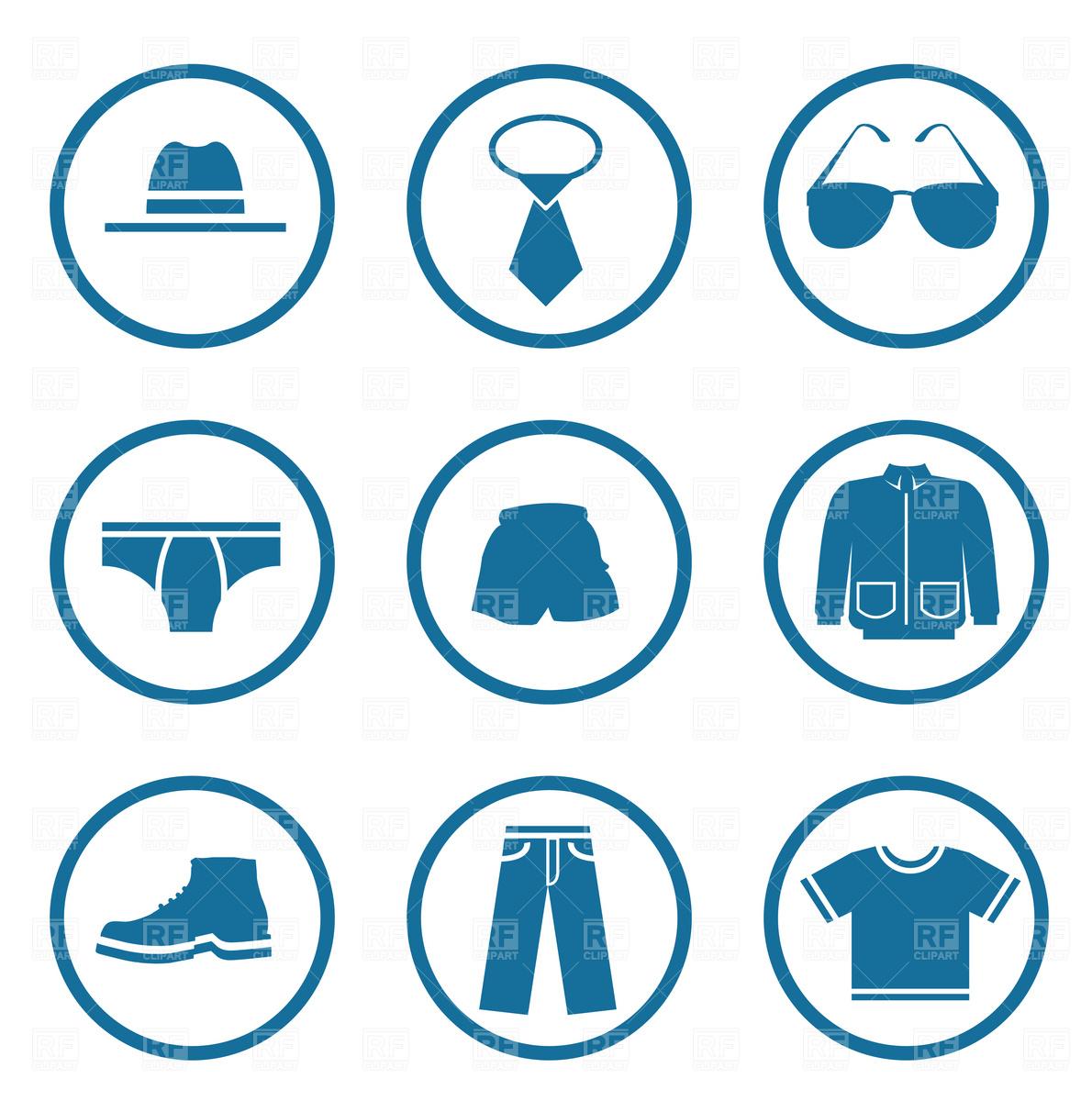 Tie clipart men's clothing Art Pictures Clip Clothing Men