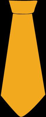 Orange clipart necktie Art Clip Orange Tie Tie