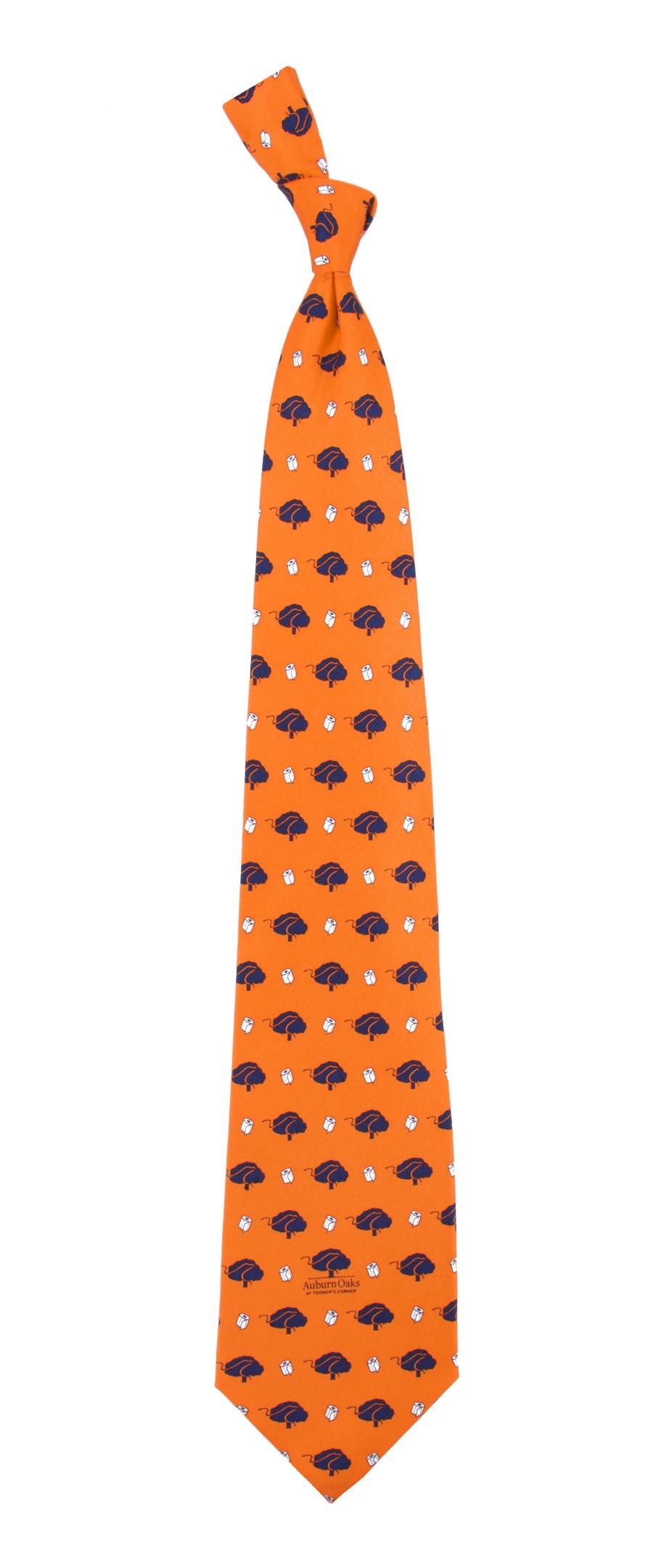 Orange clipart necktie Necktie Oaks Auburn Orange Oaks
