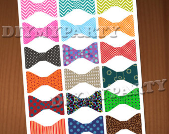 Tie clipart orange Bow decoration birthday Bow tie