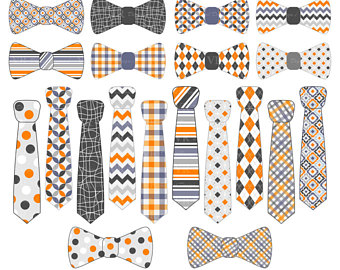 Tie clipart orange Day CLIP ART