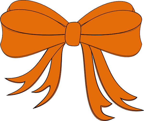 Tie clipart orange ribbon Orange tie Tie ribbon (25+)