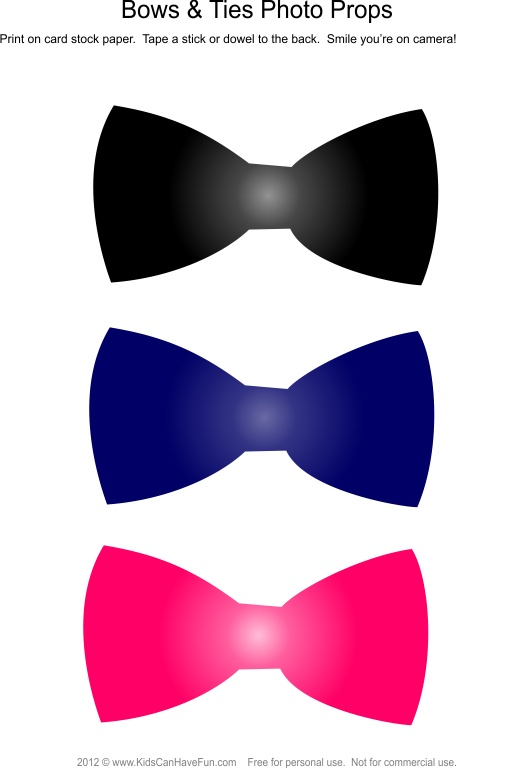 Tie clipart photo booth prop 79 images Photo Bowties best