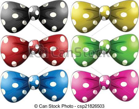 Tie clipart polka dot tie Clipart tie bow tie Polkadot