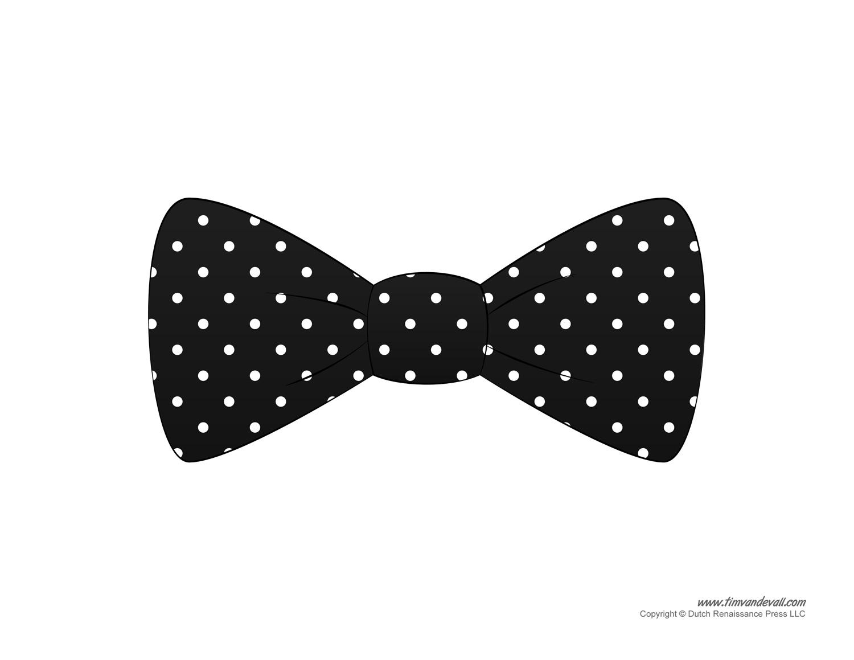 Tie clipart polka dot tie Black Dot  Tie Clipart