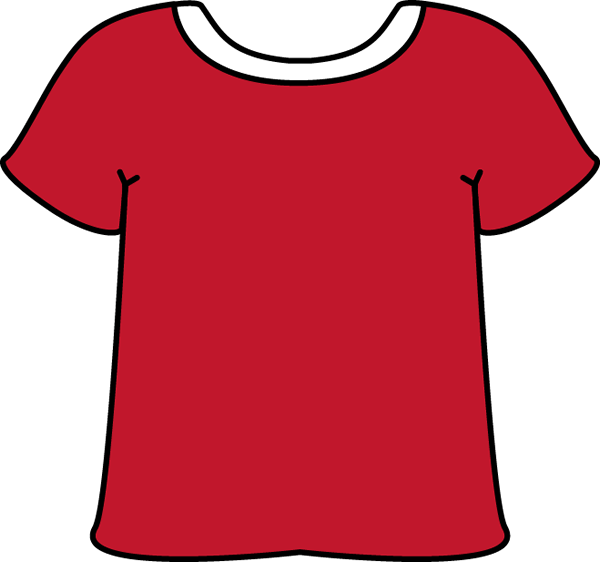 Tie clipart red clothes Shirt T Clip White Tshirt