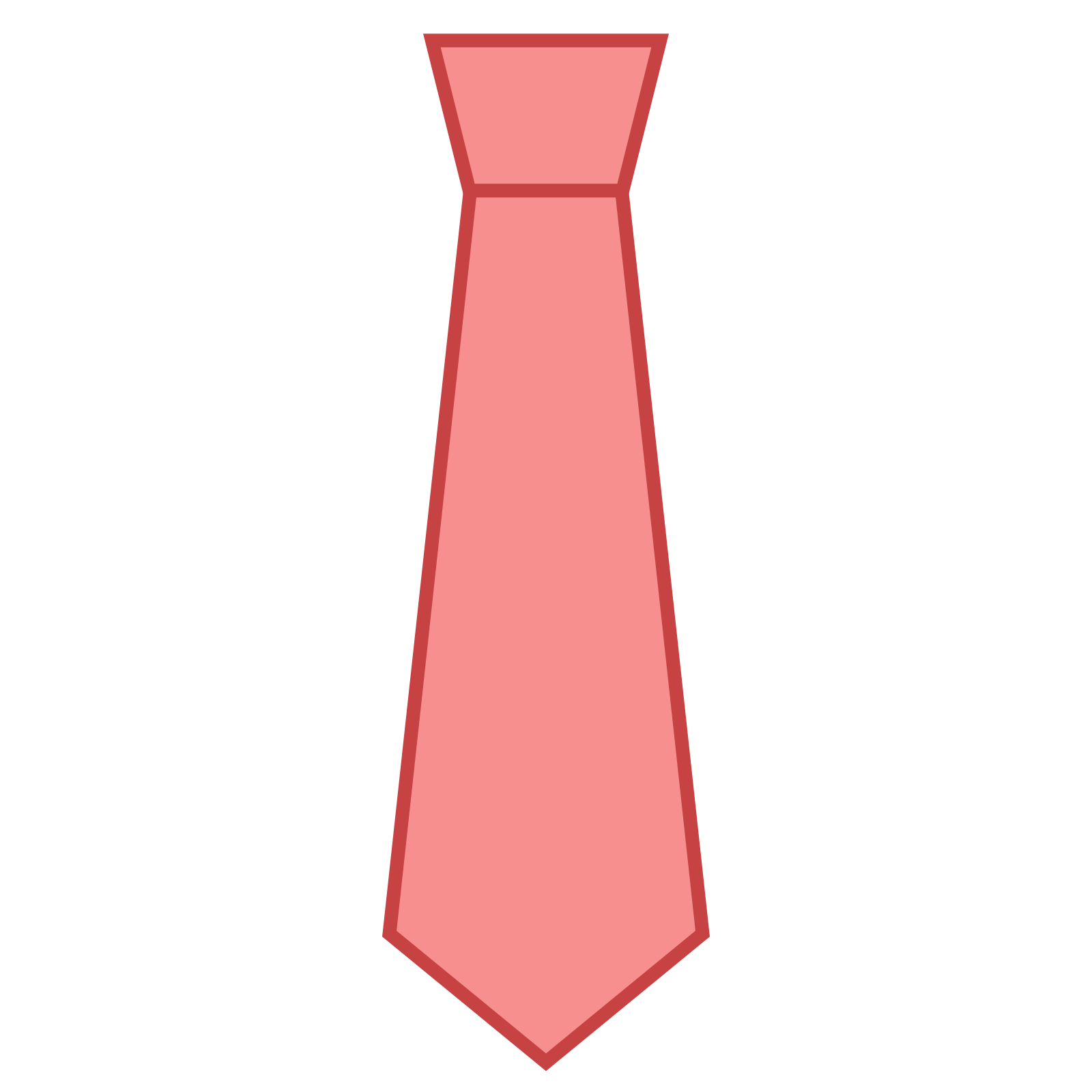 Tie clipart red clothes For icon Icons Tie Clothes