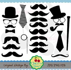 Tie clipart silly Silly Cherryclipart $3 and silhouettes