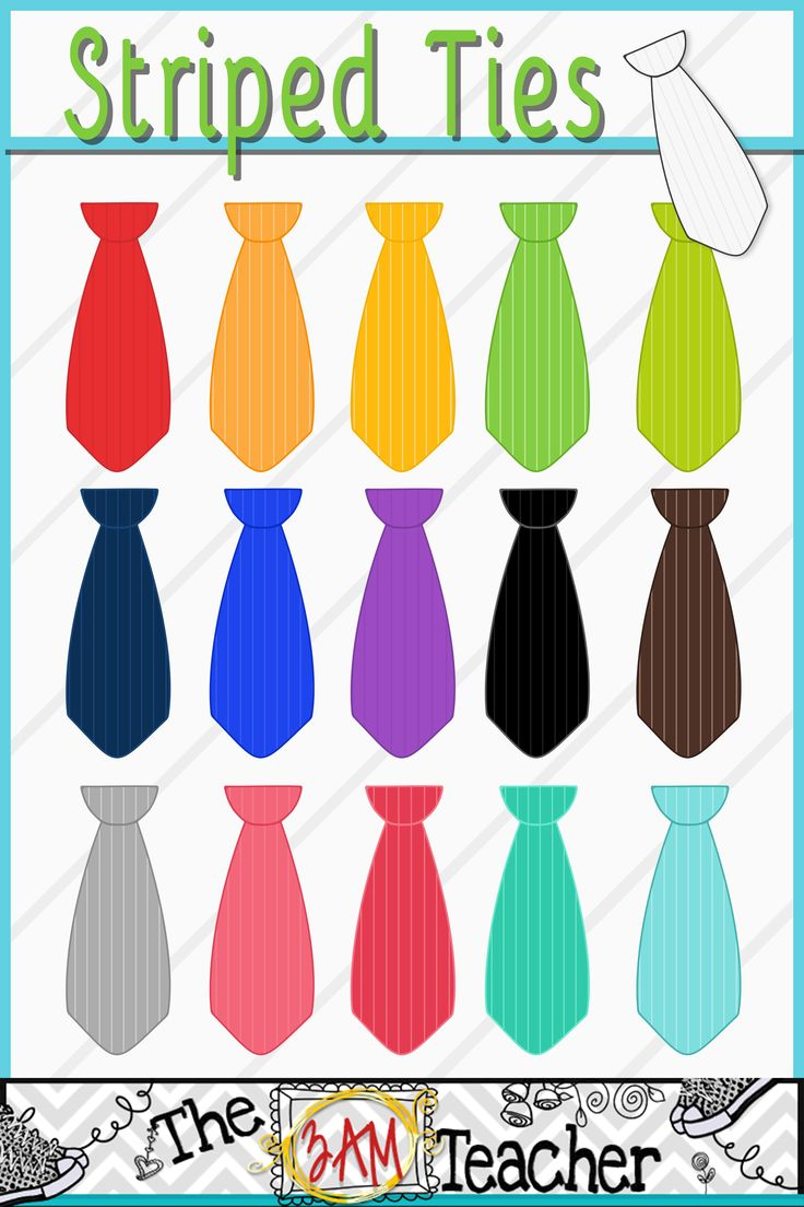 Tie clipart stripy About Objects Clip Striped Art