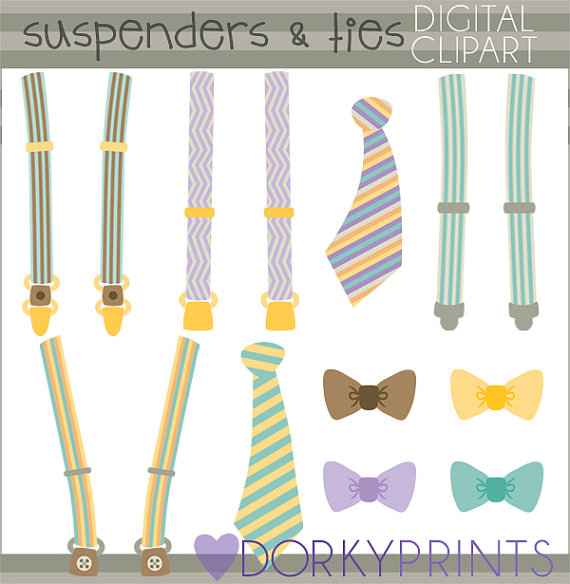 Tie clipart stripy Commercial Suspenders suspenders Ties Limited