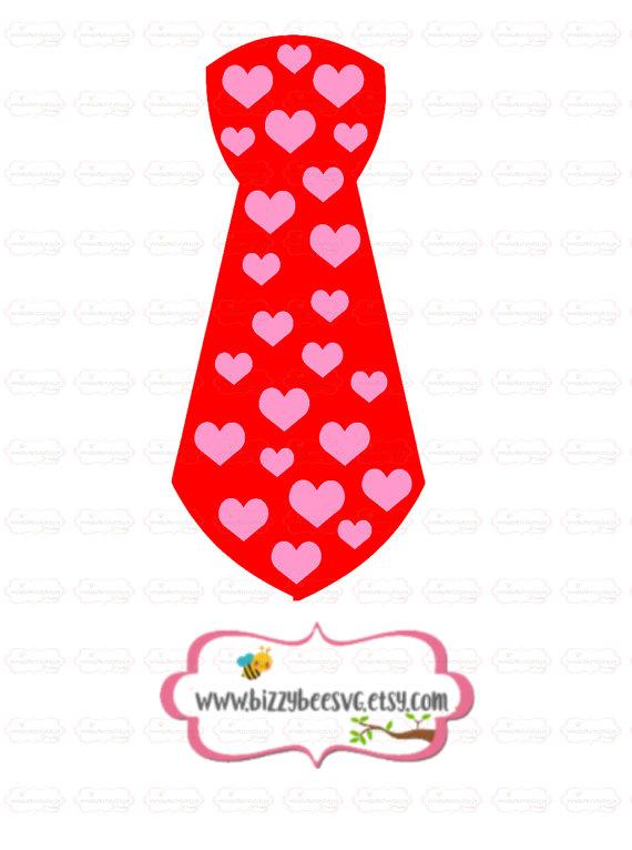 Tie clipart valentine Valentines tie svg boy svg